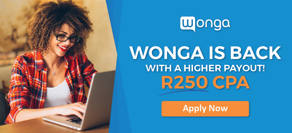 Wonga Affiliate Program Powered by OfferForge.com Affiliate Network