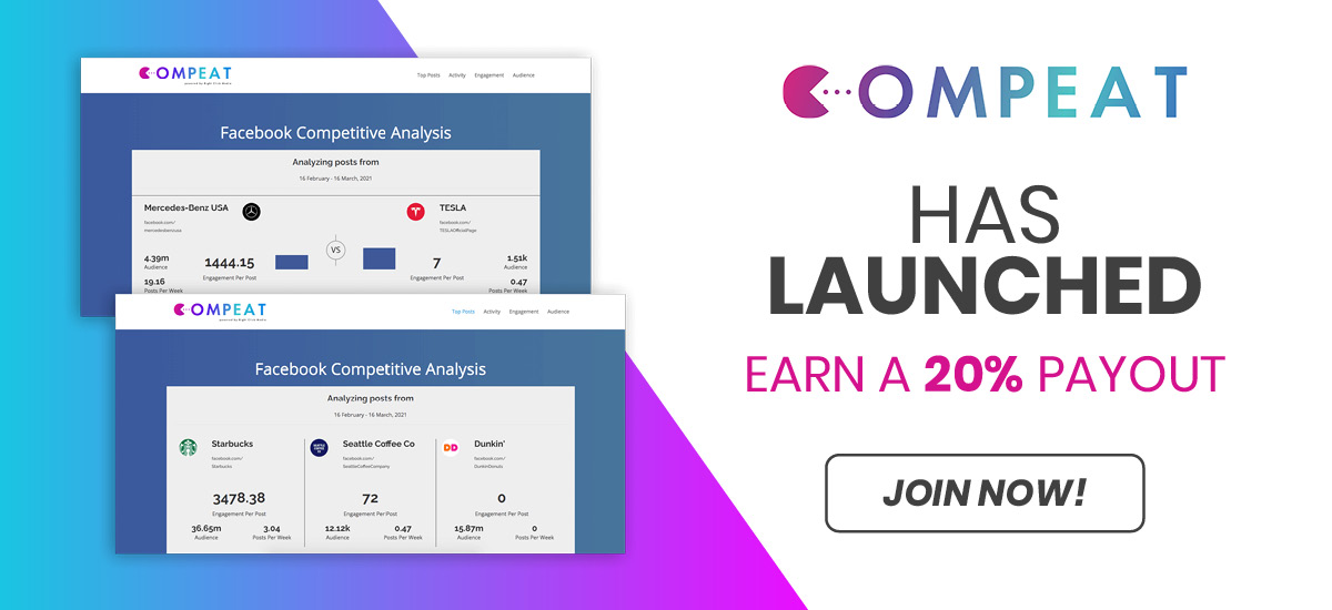 Compeat Affiliate Program Powered by OfferForge.com Affiliate Network