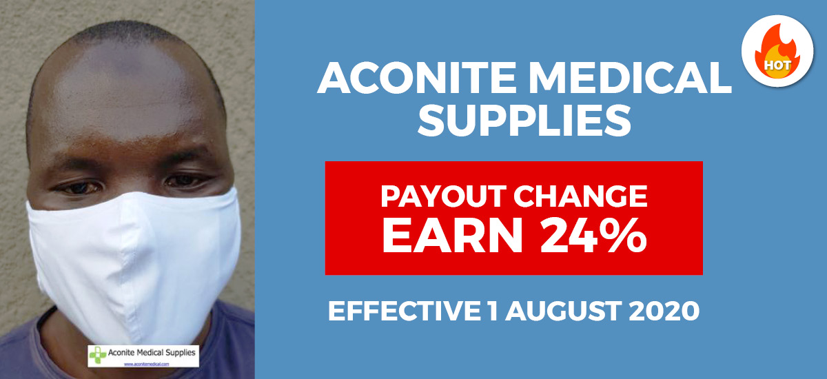Aconite Medical Supplies Affiliate Program Powered by OfferForge.com Affiliate Network