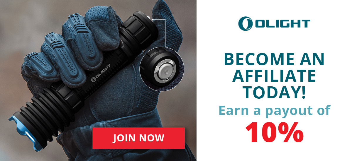 Olight Affiliate Program Powered by OfferForge.com Affiliate Network